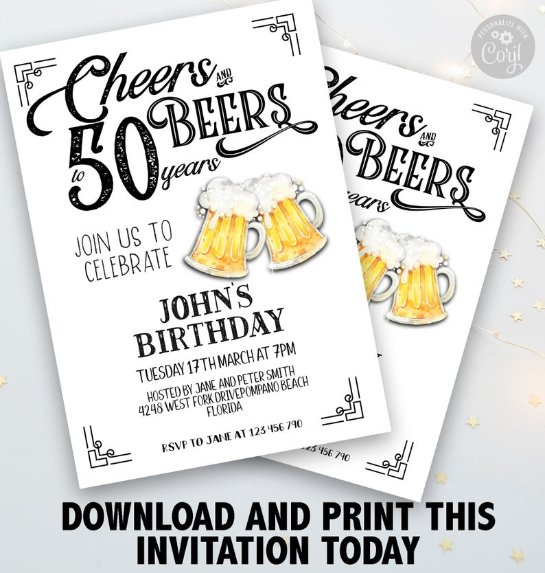 personalised birthday card template cheers to 30 years editable 30 birthday card instant download corjl portrait best friend birthday gift