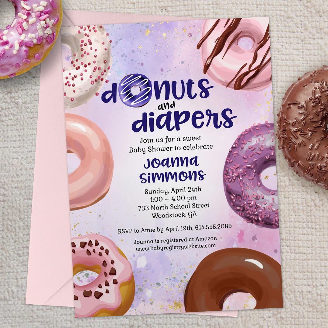 C_DonutsDiapersBabyShowerInv